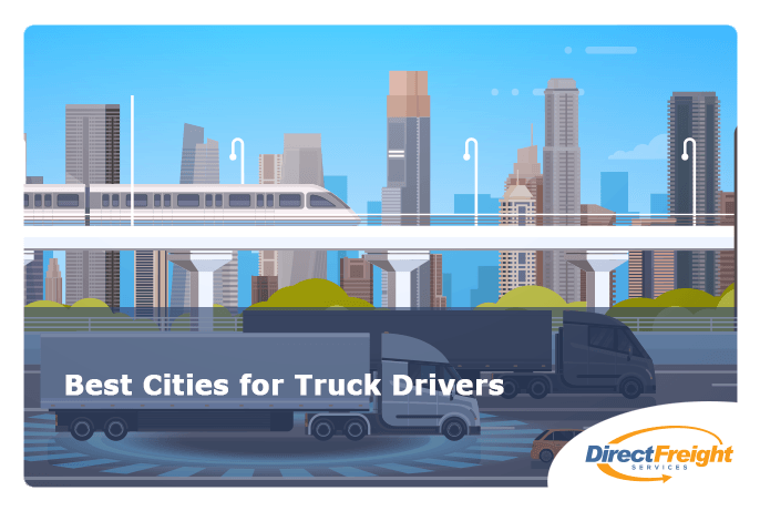 best-cities-for-truck-drivers