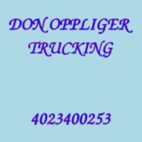 DON OPPLIGER TRUCKING