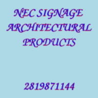 NEC SIGNAGE  ARCHITECTURAL PRODUCTS