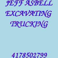 JEFF ASBELL EXCAVATING  TRUCKING