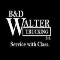 BD WALTER TRUCKING