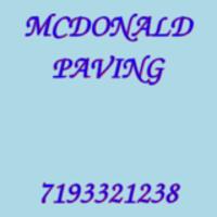 MCDONALD PAVING