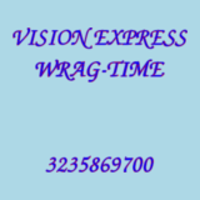 VISION EXPRESS WRAG-TIME