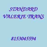 STANDARD VALERIE TRANS
