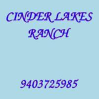 CINDER LAKES RANCH