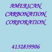 AMERICAN CARBONATION CORPORATION